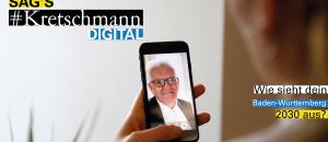Sag's Kretschmann #digital – der Ministerpräsident im Gespräch mit Jugendlichen